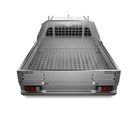 Premium Aluminium UTE Tray Excellent Features Mill Finish