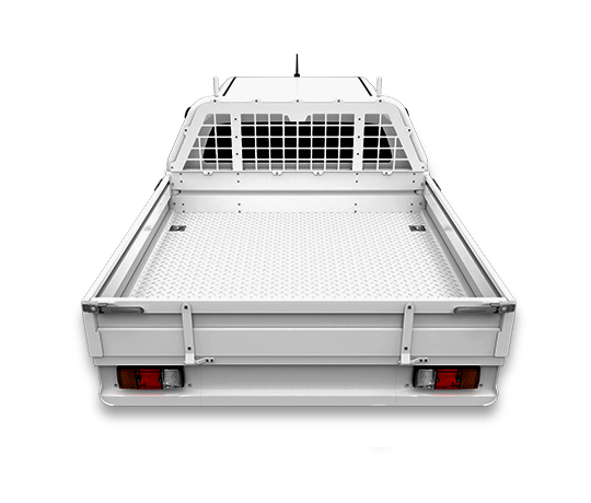 Steel Aluminium UTE Tray Excellent Features White
